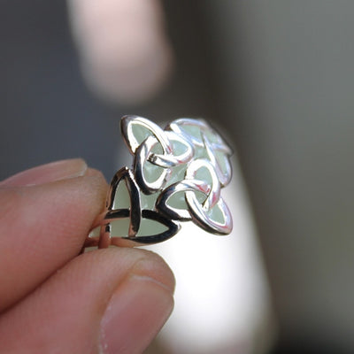 Glow In The Dark Celts Ring