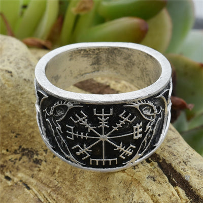 Helm of Awe Vintage Ring