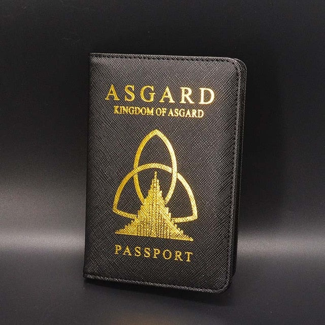 Asgardian Passport  Cover