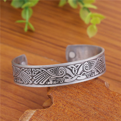 Huginn and Muninn bracelet