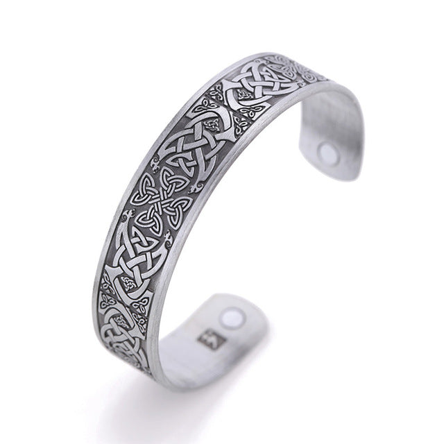 Shamrock Celtic Arm Ring