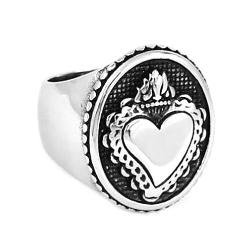 Crown Heart Irish  Ring