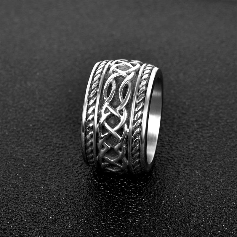Celtic Knots Men's Ring