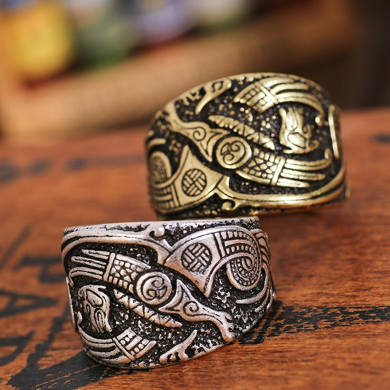 Adjustable Níðhöggr Ring