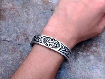 Celtic Knot men's bangles