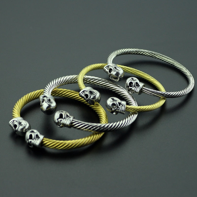 Skull Head  Warrior Bracelet