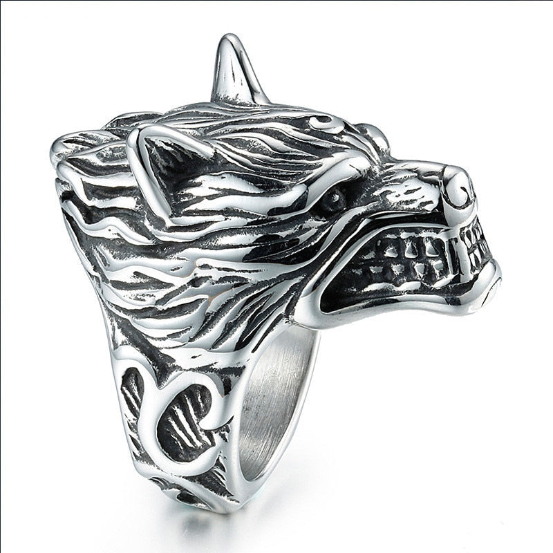 3D Wolf Rings