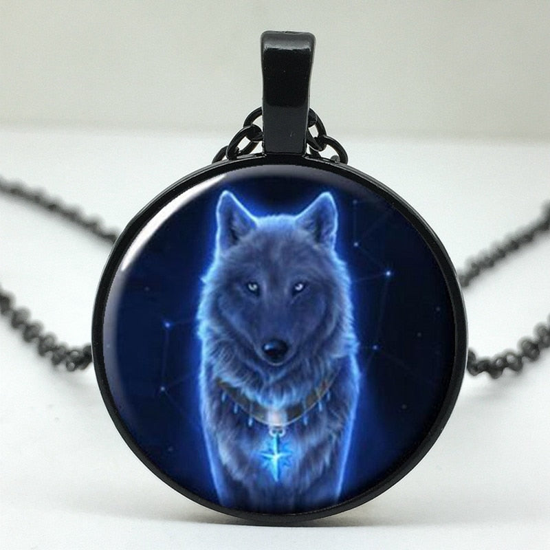 Winter Wolf Pendant