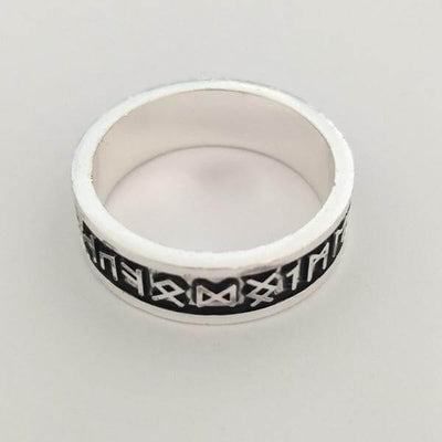 Custom  Viking Wedding Ring