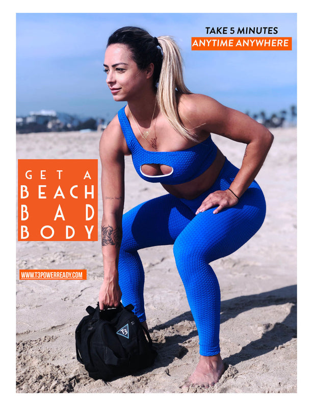 T3 Bag introduction E-book - Get a Beach Bad Body by T3 Power Ready