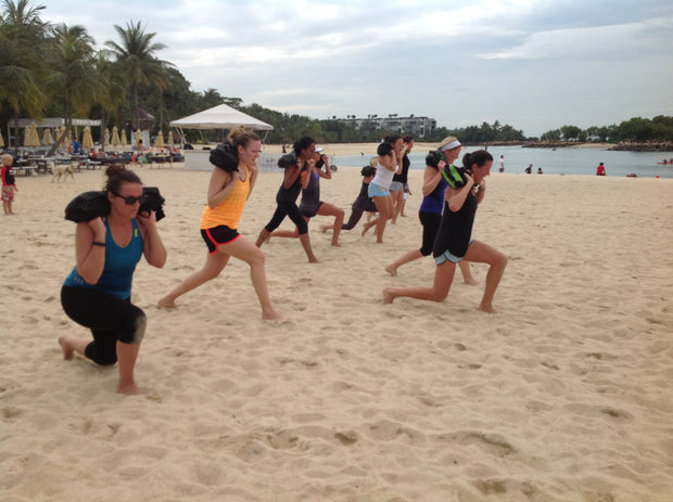Sprints and Upper Body -50 Minutes - Get a Beach Bad Body by T3 Power Ready