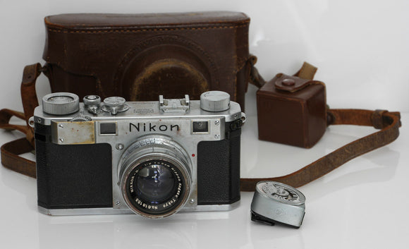 NIKON M RANGEFINDER Camera and 50mm f/2 lens Serial #6093238