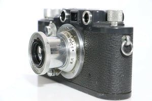 Military Leica IIIC K WH w/Elmar 50mm f/3.5 Lens Gray Paint Wehrmacht Heer
