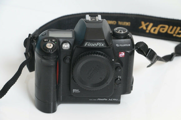 Fujifilm FinePix S Series S2 Pro 6.2MP Digital SLR Camera - Black (Body Only)