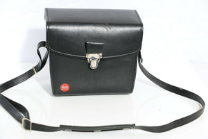 Leica Original Black Leather Case for Leica Camera and Lenses