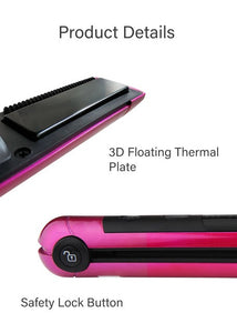 CHELSEA HOT PINK MINI USB STYLER-hair straightener,FLAT IRON-brush,SIMPLICITY Hair and Beauty -SimplicityHair&Beauty,[variant_title]-black,[option1]-hair-brush,[option2]-hair-curler,[option3]-flat-iron