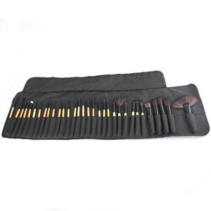 32pcs Professional Makeup Brushes Set-hair straightener,[product_type]-brush,SIMPLICITY Hair and Beauty -SimplicityHair&Beauty,Brush D / China-black,Brush D-hair-brush,China-hair-curler,[option3]-flat-iron