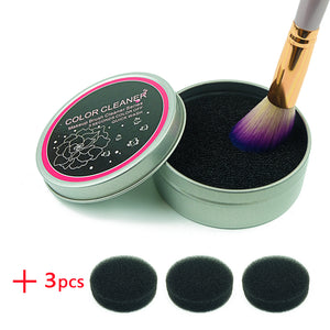 Makeup Brush Cleaner Sponge-hair straightener,[product_type]-brush,SIMPLICITY Hair and Beauty -SimplicityHair&Beauty,[variant_title]-black,[option1]-hair-brush,[option2]-hair-curler,[option3]-flat-iron