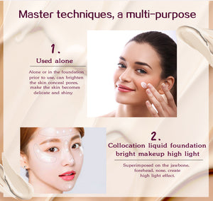Make up Primer Face Smooth-hair straightener,[product_type]-brush,SIMPLICITY Hair and Beauty -SimplicityHair&Beauty,[variant_title]-black,[option1]-hair-brush,[option2]-hair-curler,[option3]-flat-iron