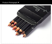 Load image into Gallery viewer, 12 Colors Set Matte Lip Liner-hair straightener,[product_type]-brush,SIMPLICITY Hair and Beauty -SimplicityHair&Beauty,[variant_title]-black,[option1]-hair-brush,[option2]-hair-curler,[option3]-flat-iron