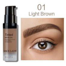 Load image into Gallery viewer, Eyebrow Tint Cream-hair straightener,[product_type]-brush,SIMPLICITY Hair and Beauty -SimplicityHair&Beauty,1 Light Brown-black,1 Light Brown-hair-brush,[option2]-hair-curler,[option3]-flat-iron