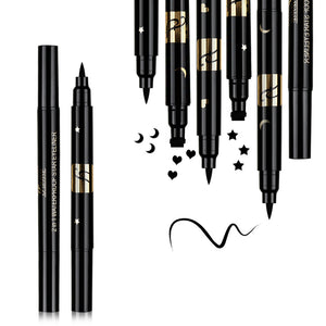Double Head Liquid Stamp Eyeliner Pen-hair straightener,[product_type]-brush,SIMPLICITY Hair and Beauty -SimplicityHair&Beauty,[variant_title]-black,[option1]-hair-brush,[option2]-hair-curler,[option3]-flat-iron