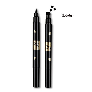 Double Head Liquid Stamp Eyeliner Pen-hair straightener,[product_type]-brush,SIMPLICITY Hair and Beauty -SimplicityHair&Beauty,Love-black,Love-hair-brush,[option2]-hair-curler,[option3]-flat-iron