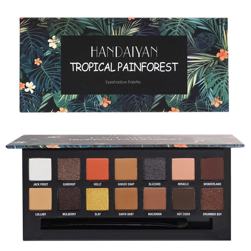 Tropical Rainforest Eyeshadow Palette-hair straightener,[product_type]-brush,SIMPLICITY Hair and Beauty -SimplicityHair&Beauty,[variant_title]-black,[option1]-hair-brush,[option2]-hair-curler,[option3]-flat-iron