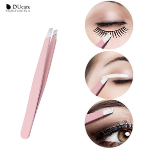 Stainless Steel Eyebrow Tweezers 3pcs-hair straightener,[product_type]-brush,SIMPLICITY Hair and Beauty -SimplicityHair&Beauty,[variant_title]-black,[option1]-hair-brush,[option2]-hair-curler,[option3]-flat-iron