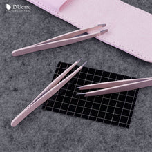Load image into Gallery viewer, Stainless Steel Eyebrow Tweezers 3pcs-hair straightener,[product_type]-brush,SIMPLICITY Hair and Beauty -SimplicityHair&Beauty,[variant_title]-black,[option1]-hair-brush,[option2]-hair-curler,[option3]-flat-iron