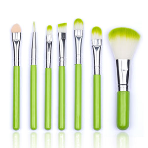 MINI Green Makeup Brush Set-hair straightener,[product_type]-brush,SIMPLICITY Hair and Beauty -SimplicityHair&Beauty,[variant_title]-black,[option1]-hair-brush,[option2]-hair-curler,[option3]-flat-iron