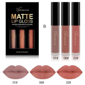 Matte Lip Gloss-hair straightener,[product_type]-brush,SIMPLICITY Hair and Beauty -SimplicityHair&Beauty,B-black,B-hair-brush,[option2]-hair-curler,[option3]-flat-iron