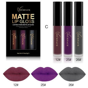 Matte Lip Gloss-hair straightener,[product_type]-brush,SIMPLICITY Hair and Beauty -SimplicityHair&Beauty,C-black,C-hair-brush,[option2]-hair-curler,[option3]-flat-iron