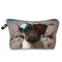 Load image into Gallery viewer, 3D Printing Makeup Bag Pug Life-hair straightener,[product_type]-brush,SIMPLICITY Hair and Beauty -SimplicityHair&Beauty,58-black,58-hair-brush,[option2]-hair-curler,[option3]-flat-iron