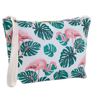 HAWAIIAN PARTY COSMETIC BAGS-hair straightener,[product_type]-brush,SIMPLICITY Hair and Beauty -SimplicityHair&Beauty,3-black,3-hair-brush,[option2]-hair-curler,[option3]-flat-iron