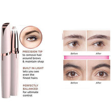 Load image into Gallery viewer, LED Eyebrow Hair Remover-hair straightener,[product_type]-brush,SIMPLICITY Hair and Beauty -SimplicityHair&Beauty,[variant_title]-black,[option1]-hair-brush,[option2]-hair-curler,[option3]-flat-iron