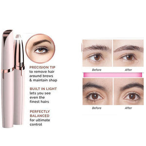 LED Eyebrow Hair Remover-hair straightener,[product_type]-brush,SIMPLICITY Hair and Beauty -SimplicityHair&Beauty,[variant_title]-black,[option1]-hair-brush,[option2]-hair-curler,[option3]-flat-iron