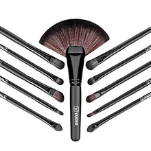 Load image into Gallery viewer, 32pcs Professional Makeup Brushes Set-hair straightener,[product_type]-brush,SIMPLICITY Hair and Beauty -SimplicityHair&Beauty,[variant_title]-black,[option1]-hair-brush,[option2]-hair-curler,[option3]-flat-iron