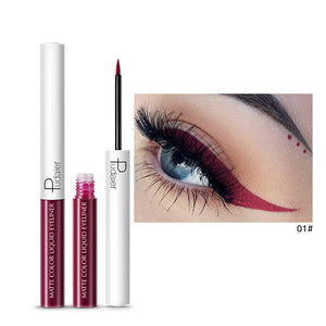 Matte Color Liquid Eyeliner 15 colors-hair straightener,[product_type]-brush,SIMPLICITY Hair and Beauty -SimplicityHair&Beauty,1-black,1-hair-brush,[option2]-hair-curler,[option3]-flat-iron