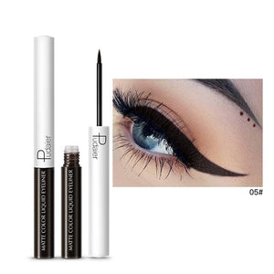 Matte Color Liquid Eyeliner 15 colors-hair straightener,[product_type]-brush,SIMPLICITY Hair and Beauty -SimplicityHair&Beauty,5-black,5-hair-brush,[option2]-hair-curler,[option3]-flat-iron