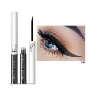 Matte Color Liquid Eyeliner 15 colors-hair straightener,[product_type]-brush,SIMPLICITY Hair and Beauty -SimplicityHair&Beauty,9-black,9-hair-brush,[option2]-hair-curler,[option3]-flat-iron