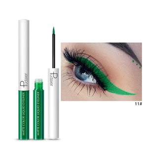 Matte Color Liquid Eyeliner 15 colors-hair straightener,[product_type]-brush,SIMPLICITY Hair and Beauty -SimplicityHair&Beauty,11-black,11-hair-brush,[option2]-hair-curler,[option3]-flat-iron