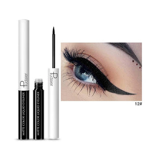 Matte Color Liquid Eyeliner 15 colors-hair straightener,[product_type]-brush,SIMPLICITY Hair and Beauty -SimplicityHair&Beauty,12-black,12-hair-brush,[option2]-hair-curler,[option3]-flat-iron