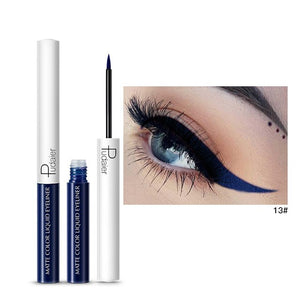 Matte Color Liquid Eyeliner 15 colors-hair straightener,[product_type]-brush,SIMPLICITY Hair and Beauty -SimplicityHair&Beauty,13-black,13-hair-brush,[option2]-hair-curler,[option3]-flat-iron