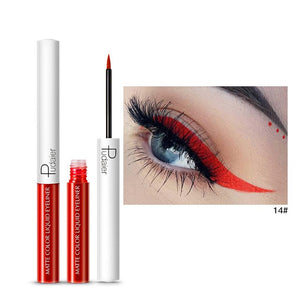 Matte Color Liquid Eyeliner 15 colors-hair straightener,[product_type]-brush,SIMPLICITY Hair and Beauty -SimplicityHair&Beauty,14-black,14-hair-brush,[option2]-hair-curler,[option3]-flat-iron