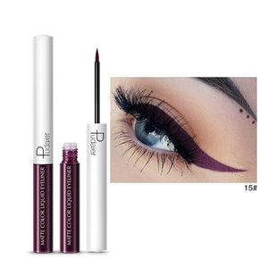 Matte Color Liquid Eyeliner 15 colors-hair straightener,[product_type]-brush,SIMPLICITY Hair and Beauty -SimplicityHair&Beauty,15-black,15-hair-brush,[option2]-hair-curler,[option3]-flat-iron