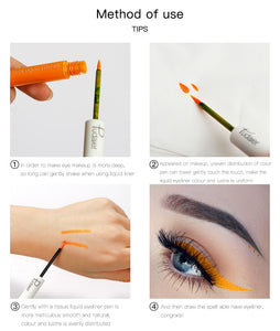 Matte Color Liquid Eyeliner 15 colors-hair straightener,[product_type]-brush,SIMPLICITY Hair and Beauty -SimplicityHair&Beauty,[variant_title]-black,[option1]-hair-brush,[option2]-hair-curler,[option3]-flat-iron