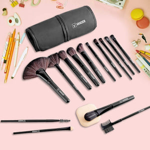 32pcs Professional Makeup Brushes Set-hair straightener,[product_type]-brush,SIMPLICITY Hair and Beauty -SimplicityHair&Beauty,[variant_title]-black,[option1]-hair-brush,[option2]-hair-curler,[option3]-flat-iron