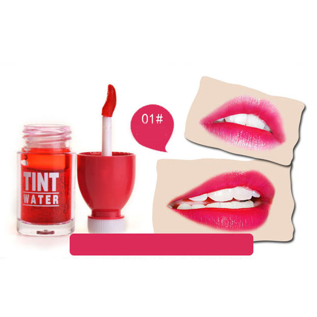 Fruitee Lip Tint Water-hair straightener,[product_type]-brush,SIMPLICITY Hair and Beauty -SimplicityHair&Beauty,Rose Red-black,Rose Red-hair-brush,[option2]-hair-curler,[option3]-flat-iron