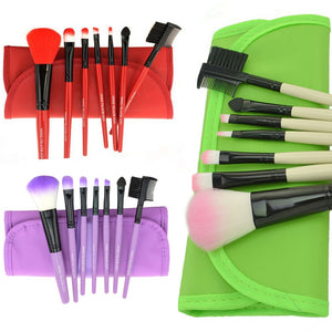 7 pcs Pro Beauty Brush Set-hair straightener,[product_type]-brush,SIMPLICITY Hair and Beauty -SimplicityHair&Beauty,[variant_title]-black,[option1]-hair-brush,[option2]-hair-curler,[option3]-flat-iron